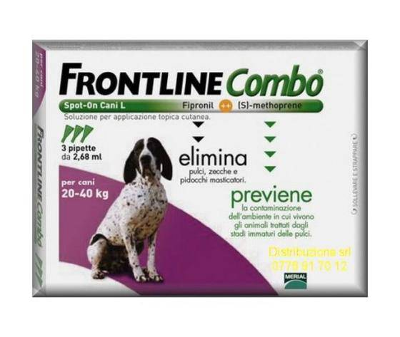 Frontline Combo Cani 20-40 Kg 3 Pipette Spot On