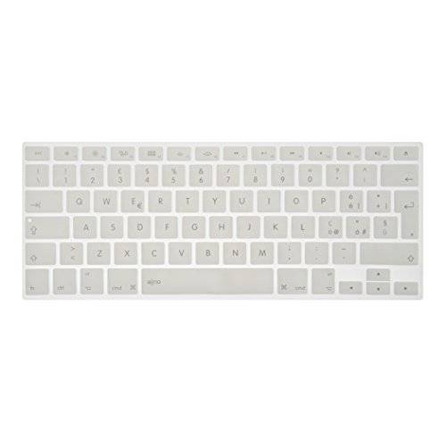 Aiino Copritastiera Keyboard protettore per Apple MacBook Air/Pro/Retina etc., Bianco