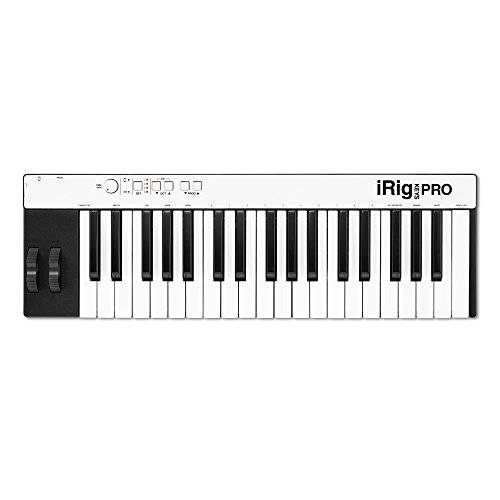 IK MULTIMEDIA iRig Keys Pro tastiera MIDI 37 tasti full size per iOS, Mac, PC