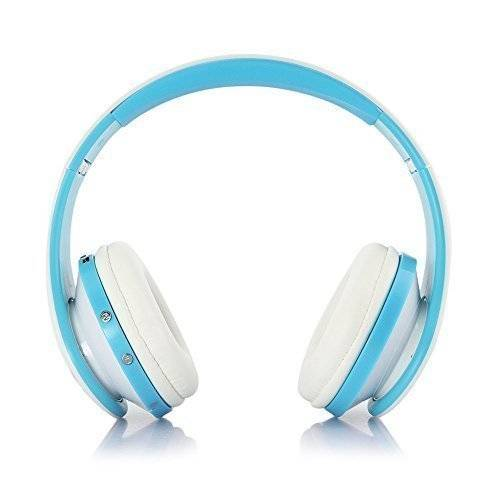 Top-Longer Wireless Stereo Bluetooth 3.0 + EDR Cuffia Auricolare & Wired Auricolare con Mic MP3 Player MicroSD/TF Music FM Radio Hands-free per Smart Phones Tablet PC Notebook