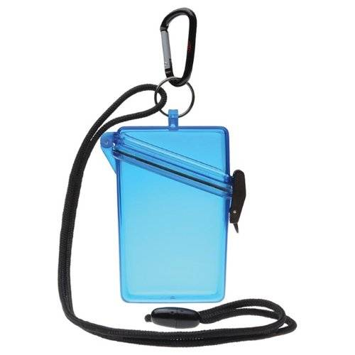 Witz See It Safe Clear ID Case for Scuba Divers and Snorkelers - 3.7in x 4.3in x 1.3in (HxWxD)
