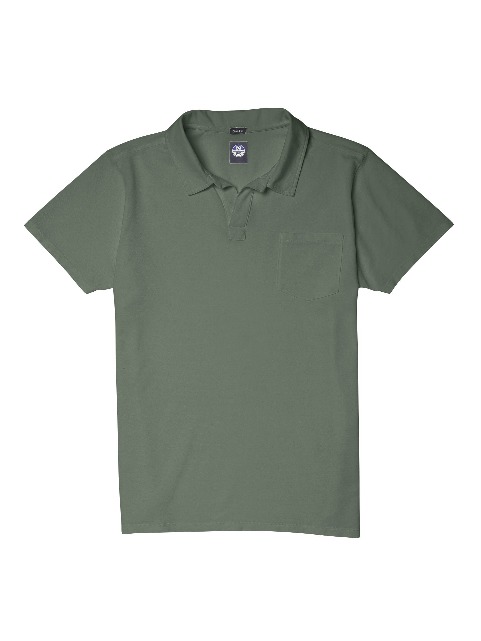 North Sails POLO SHORT SLEEVE WITH POCKET