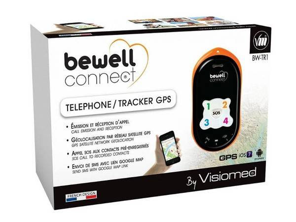 Visiomed Bewell Connetti telefono GPS Tracker