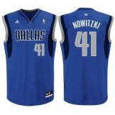 Adidas dallas mavericks canotta replica ufficiale - nowitzki 41 dallas mavericks canotta replica ufficiale - nowitzki 41 - blue Tg: S, L, M U08864_001