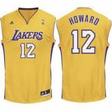 Adidas replica lakers canotta - #12 dwight howard- 100% polyester replica lakers canotta - #12 dwight howard- 100% polyester - oro e viola Tg: M, S, L L88185_001