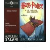 Rowling J. K. Harry Potter e la camera dei segreti. Audiolibro. 2 CD Audio formato MP3. Ediz. integrale ISBN:9788862561365