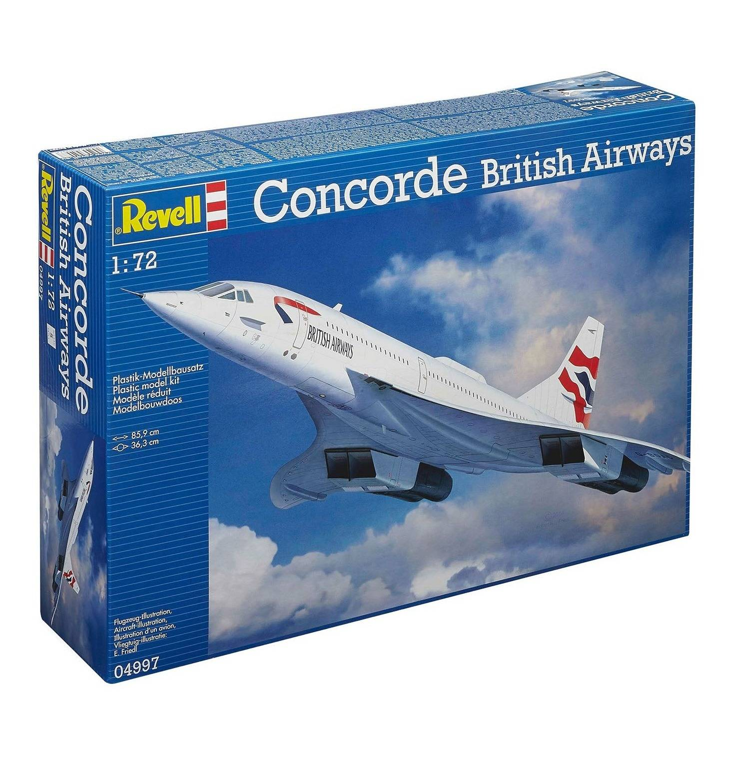 Aereo Concorde British Airways (RV04997)