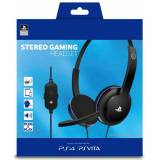 Cuffie Stereo Play and Chat per PS4 e PS Vita