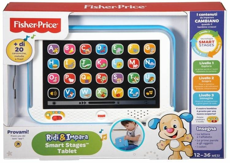 Smart Stages Tablet Azzurro