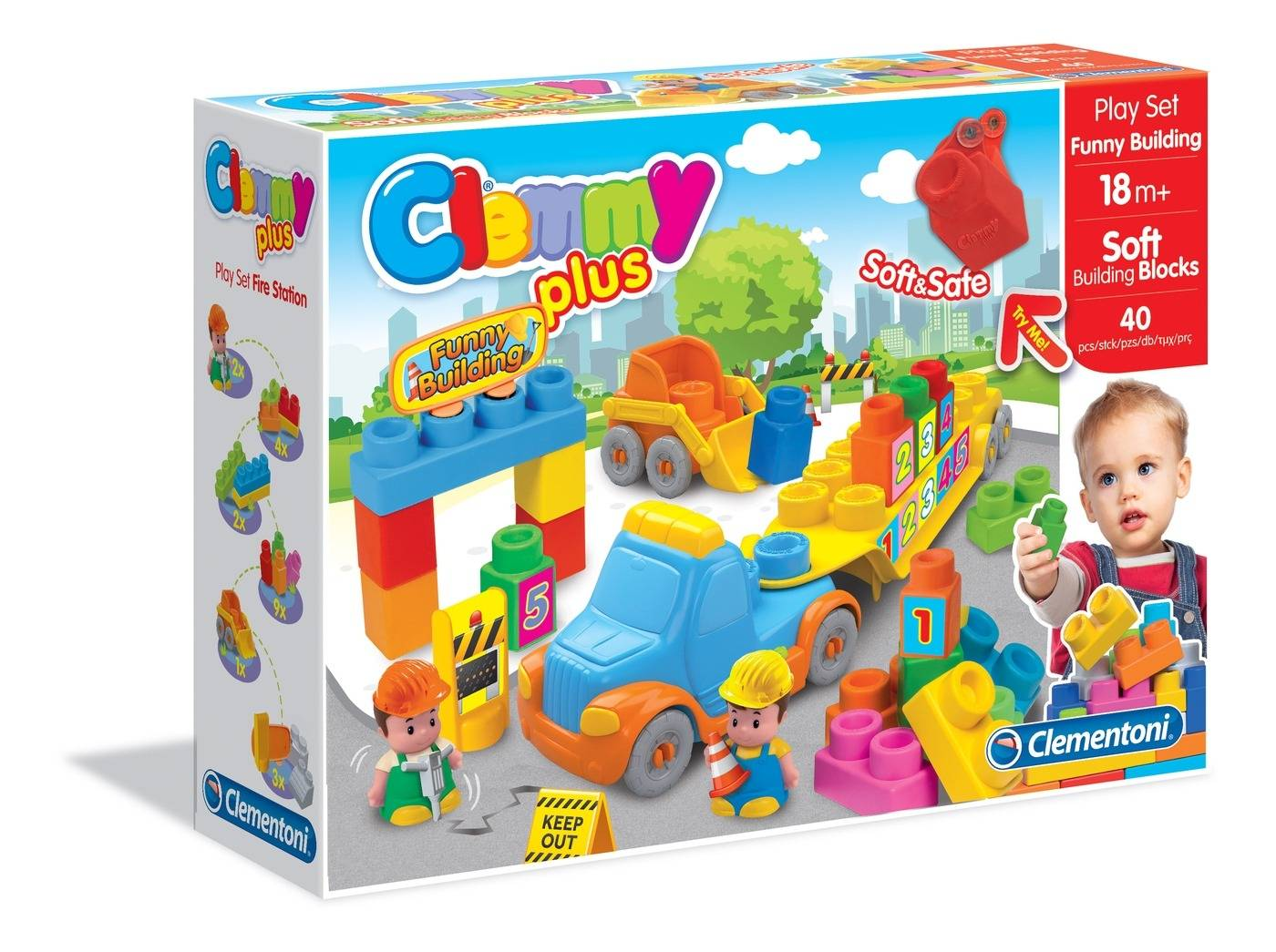 Clemmy Plus. Play Set Cantiere