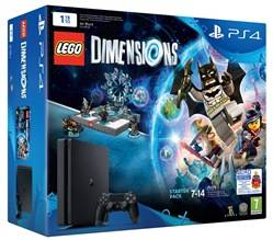 Sony Console Ps4 1tb + Lego Dimensions