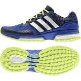 Adidas Response Boost 2.0 - scarpa running donna - Bold Blue/White