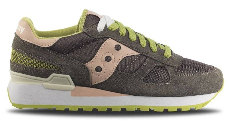 Saucony Shadow Originals W - sneakers - donna - Rose/Lime