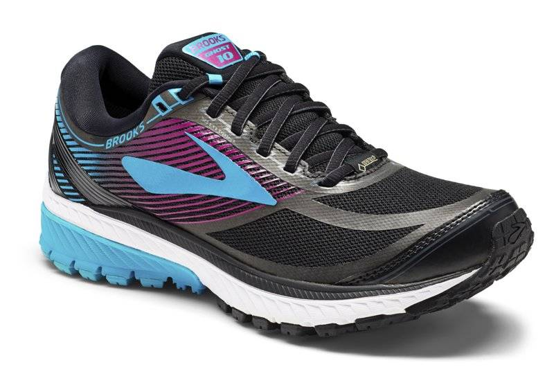 Brooks Ghost 10 GTX W - scarpe running neutre - donna - Black/Blue