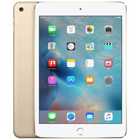 Apple iPad Mini 4 Display Retina 7.9'' 128GB Wi-Fi Bluetooth iOS 9 - Oro