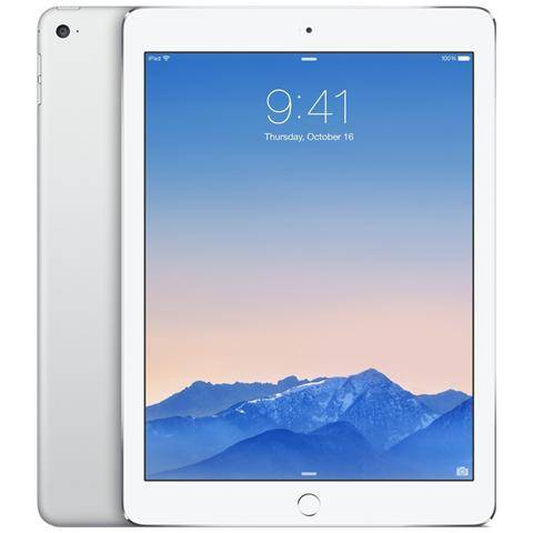 Apple iPad Air 2 Display Retina 9.7'' IPS 64Gb WiFi + Cellular LTE Bluetooth iOS 8 - Argento