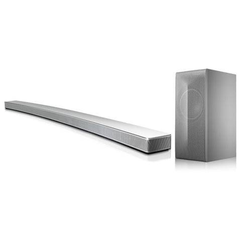LG Soundbar Curva LAS855M 4.1 Potenza Totale 360Watt Bluetooth / Wireless Multiroom HDMI + Subwoofer Wireless