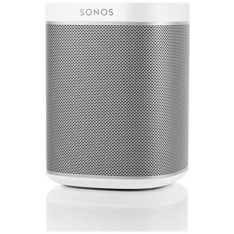 SONOS Speaker Audio Wireless PLAY: 1 Wi-Fi colore Bianco