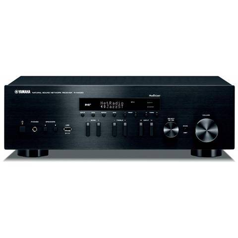 Yamaha Sintoamplificatore R-N402D Potenza RMS 85W Wi-Fi Bluetooth AirPlay colore Nero