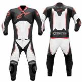 Alpinestars Atem Combi 2Pc Leather Suit Rosso