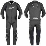 ALPINESTARS GP PRO 2PC NERO