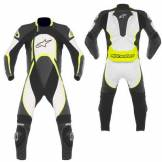 Alpinestars Orbiter Leather Suit Giallo