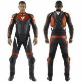 Dainese Avro Leather Suit 2pieces Rosso