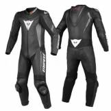 Dainese Crono leather Suit Nero