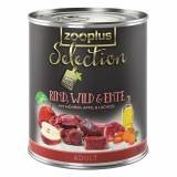 zooplus Selection Adult Manzo, Selvaggina & Anatra - 6 x 400 g