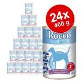 Rocco Sensitive 24 x 400 g - 2 gusti assortiti (Agnello & Pollo)