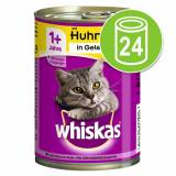Whiskas 1+ lattine 24 x 400 g - Tonno in Patè