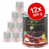zooplus Selection 12 x 800 g - Pacco misto Adult Manzo & Fagiano / Manzo & Selvaggina