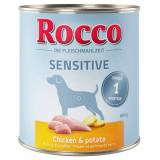 Rocco Sensitive 6 x 800 g - 4 gusti assortiti