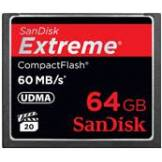 SanDisk extreme compact flash cf 64 gb - 60 mb/s - originale