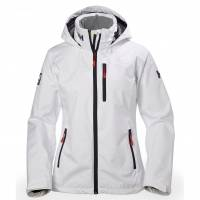 WOMEN  Sailing Jackets  Sailing Helly Hansen Womens Crew Hooded Sailing Jacket White S