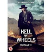 Hell On Wheels - Sesong 5 Del 1 (UK-import)