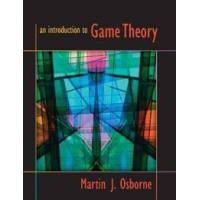 Osborne, Martin J. An Introduction to Game Theory (0195128958)