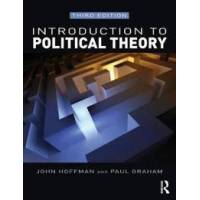 Hoffman, John Introduction to Political Theory (1408285924)