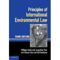 Sands, Philippe Principles of International Environmental Law (0521140935)