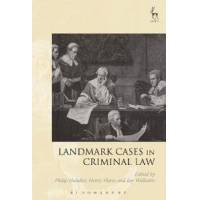 Handler, Philip (EDT) Landmark Cases in Criminal Law (1849466890)