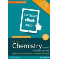 Brown, Catrin Pearson Baccalaureate Chemistry Higher Level 2nd edition ebook only edition (etext) for the IB Diploma (1447959760)