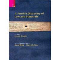 Olivelle, Patrick A Sanskrit Dictionary of Law and Statecraft (9384082643)