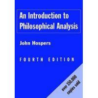 Hospers John An Introduction to Philosophical Analysis (0415157927)