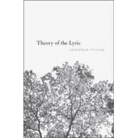 Culler, Jonathan Theory of the Lyric (0674744268)