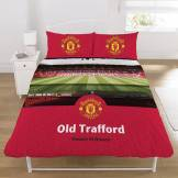 Manchester United Stadium Duvet and Pillow Case - Double.