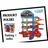 Mochtoys Parking 4 poziomy z autkami