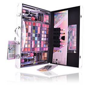 The Color Workshop COLOR PERFECTION BEAUTY TRAVELER SILVER