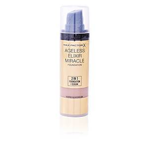 Max Factor AGELESS ELIXIR MIRACLE 2IN1 foundation+serum #45 warm almond