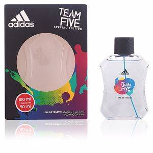 Adidas TEAM FIVE eau de toilette vaporizador 100 ml