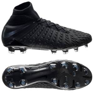 the latest e63b7 04c83 Nike Hypervenom 3 Elite DF FG Stealth Ops - Svart • Flyknit-överdel.